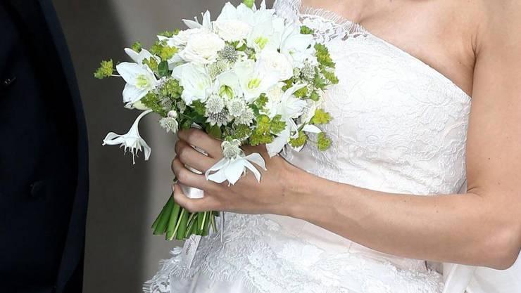 Bei «Flores» können Brautsträusse geworfen werden. (Symbolbild)