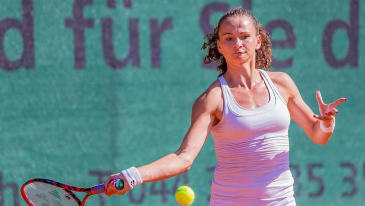 Amra Sadikovic verpasste in Kanada nur knapp den Finaleinzug.