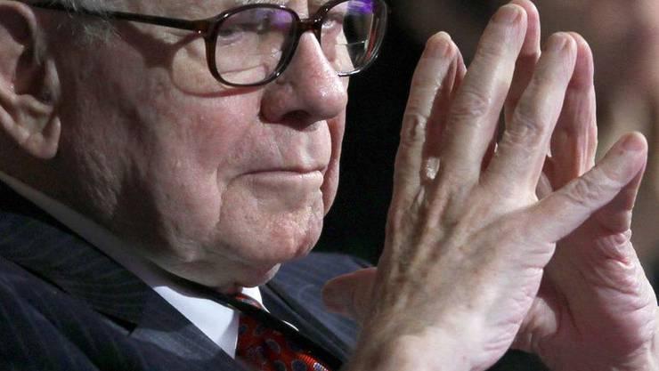 Börsenguru Buffett ist einer der reichsten Menschen der Welt