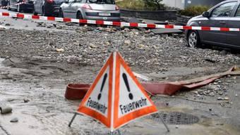 Ende März gab es in Zürich bereits einen Wasserrohrbruch (Archiv)