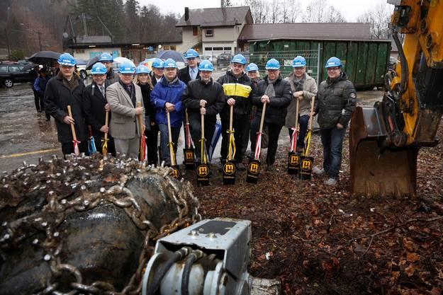 Mitte Februar 2014 fällt der Startschuss für den Neubau