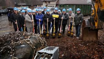 Spatenstich zum Neubau der Weissenstein-Gondelbahn