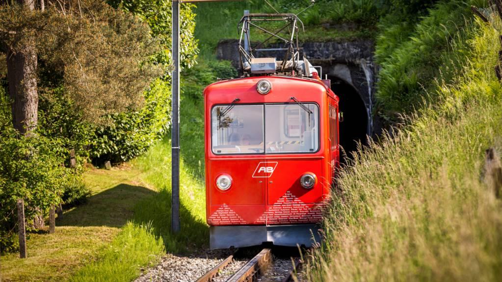 Die Rheineck-Walzenhausen-Bergbahn nahm vor über 62 Jahren den Betrieb auf.