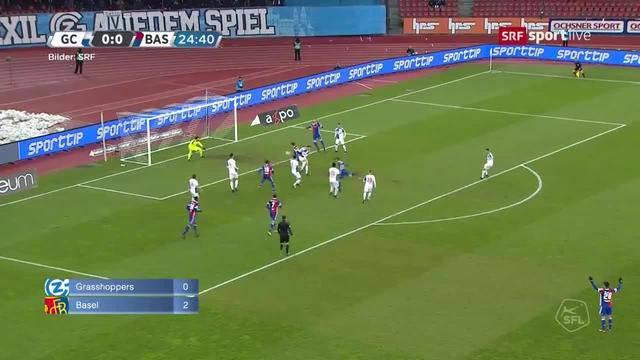 GC - Basel / Luzern - YB / Lausanne - FCZ