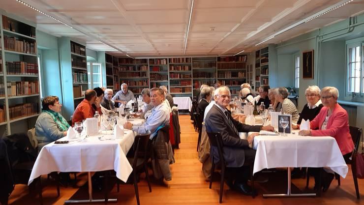 Herbstzusammenkunft Ehemalige CVP Kantonsräte Kanton Solothurn im Kloster Dornach
