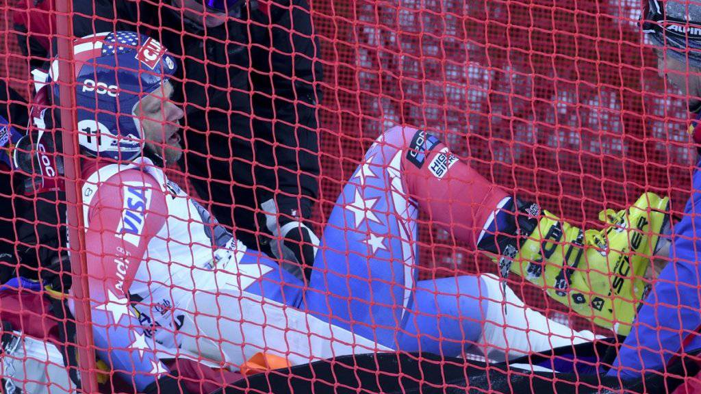 Steven Nyman wird nach seinem heftigen Sturz in Garmisch in dieser Saison keine Rennen mehr bestreiten