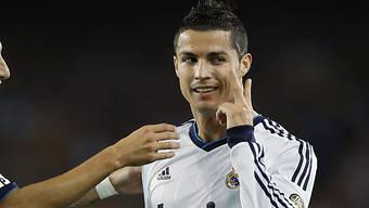 Cristiano Ronaldo traf per Penalty zum 2:0-Schlussresultat
