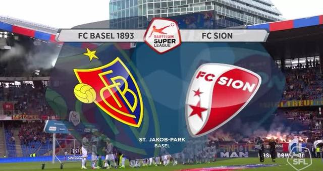 FC Basel - FC Sion (33. Runde, Super League, 2016/17)