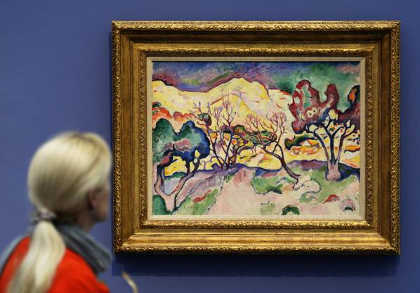 «Paysage a l'Estaque» von Georges Braque (1906)