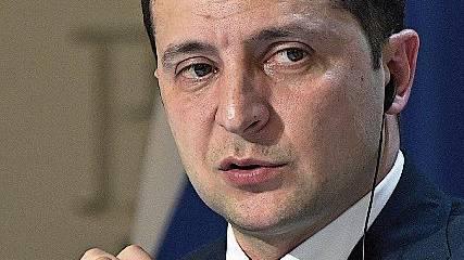 Seit Mai 2019 ukrainischer Präsident: Wolodimir Selenski.