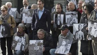 Opfer administrativer Zwangsmassnahmen bei Demo in Bern (Archiv)