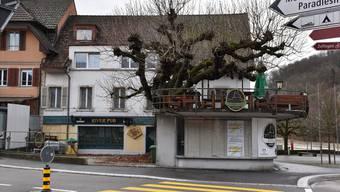 Die Zeiten des River Pub sind bald vorbei. Die Liegenschaft soll saniert, verkauft oder sogar abgerissen werden, denn der Zustand ist sichtlich schlecht.