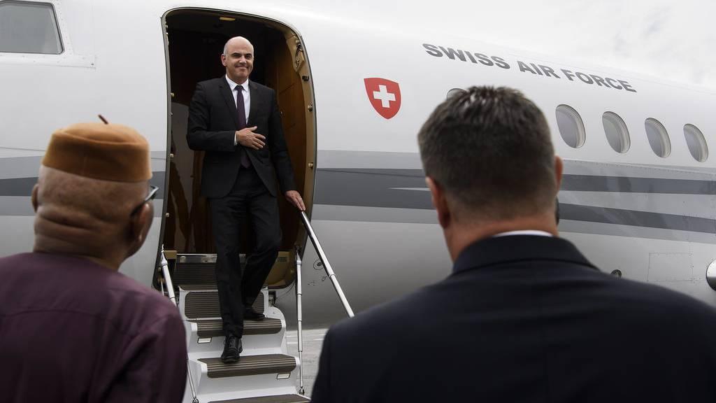 Kurze Inlandflüge und Promis an Bord: So nutzen Berset, Maurer und ihre Kollegen die Bundesratsjets