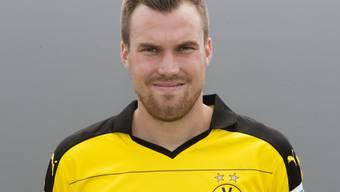Stolzer Papa: Borussia Dortmund-Fussballer Kevin Grosskreutz will die ganze Welt an der Geburt seiner Tochter Leonie teilhaben lassen. (Archivbild)