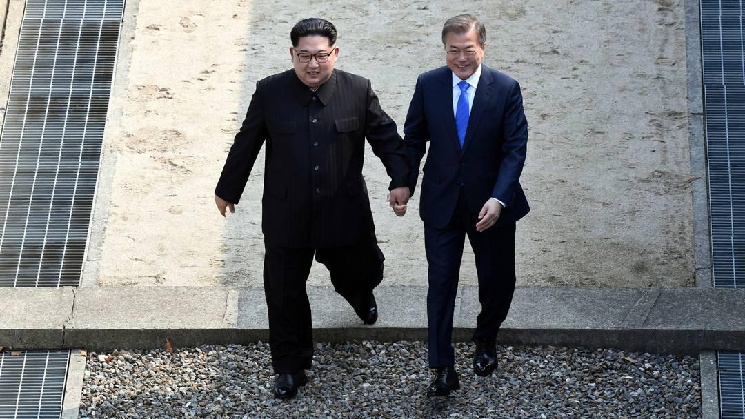 Kim überquert als erster Führer Nordkoreas die Grenze nach Südkorea