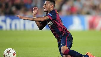 Barça-Superstar Neymar blieb gegen Nikosia ohne Torerfolg