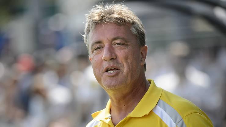 Marco Schällibaum ist Trainer bei Chiasso.