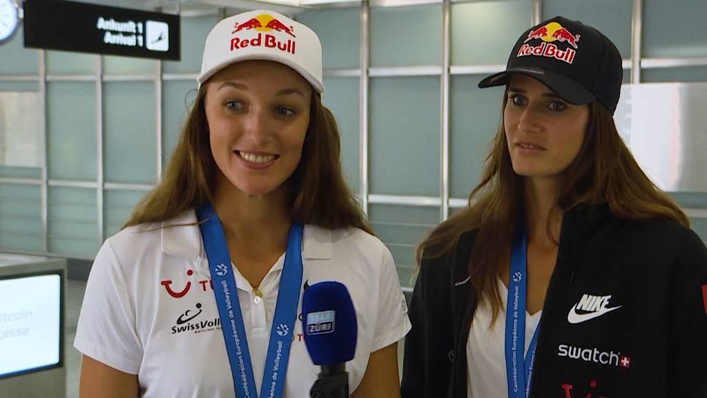 Volleyball-Gold-Ladies zurück in der Schweiz