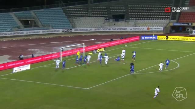 Super League, 2017/18, 17. Runde, FC Lausanne-Sport - FC Basel, Tor 0:3 (63. Min)