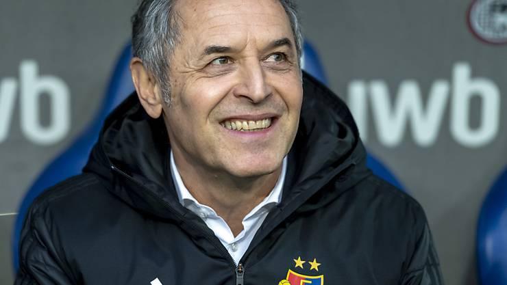 Trainer Marcel Koller kann mit Basel die Gruppenphase der Europa League gewinnen