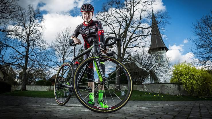 Marc Hirschi hinterliess an der Tour du Pays de Vaud einen bestechenden Eindruck. (Archiv)