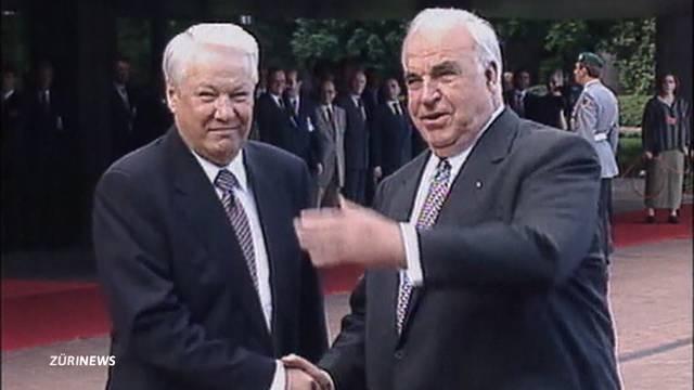 Altkanzler Helmut Kohl verstorben