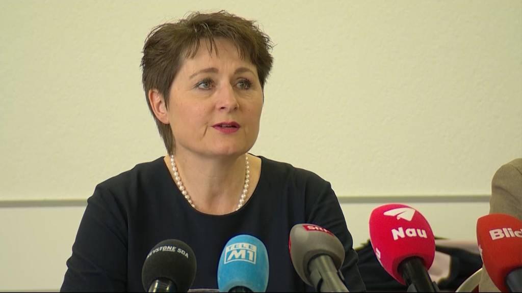 Regierungsrätin Franziska Roth tritt aus der SVP aus