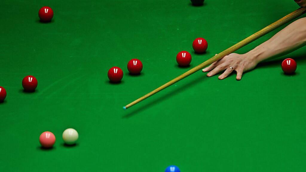 Snooker-WM als Modellprojekt in der Corona-Pandemie