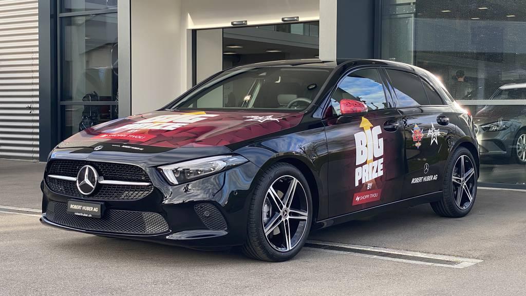 Gewinne diese brandneue Mercedes Benz A-Klasse im Big Prize