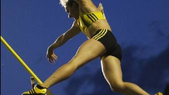 Nicole Büchler in Aktion