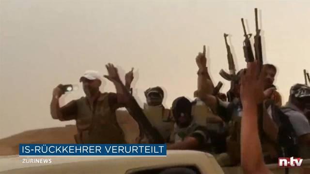 IS-Rückkehrer zu 10 Monaten bedingter Freiheitsstrafe verurteilt