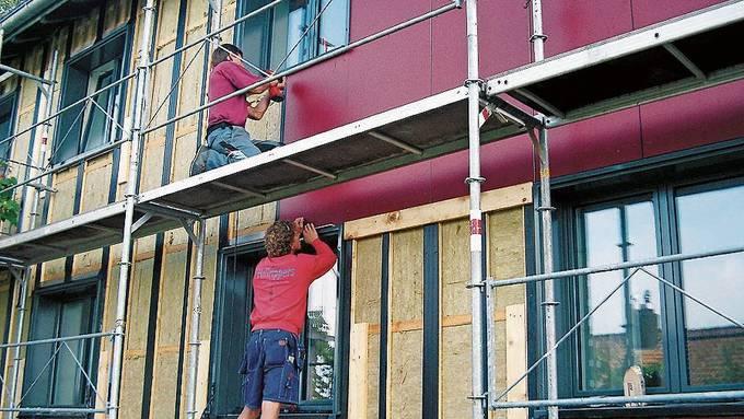 Im Aargau sollen energetische Sanierungen weiter gefördert werden. (Symbolbild)