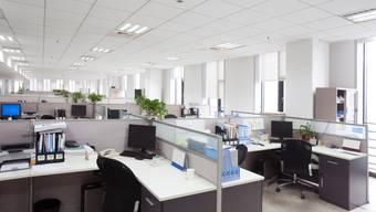 Viele Büros sind derzeit verwaist.
