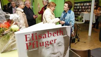 Gratulanten aus dem ganzen Kanton feierten Elisabeth Pflugers Neunzigsten.