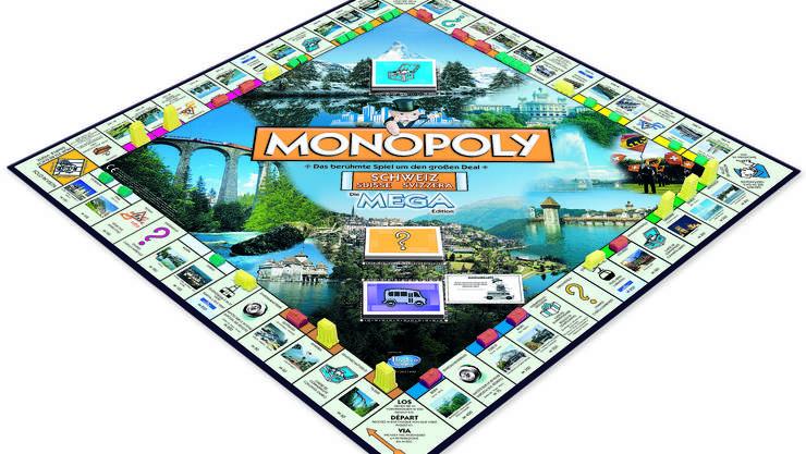 Ein «Must» für Badener Lokalpatrioten: Die Mega-Edition des Spiel-Klassiker Monopoly.