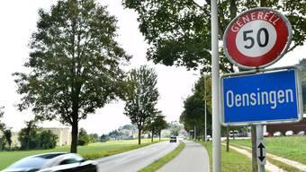 Auf diesem Strassenabschnitt fuhr Sigi M. am 30. April 2016 mit einem PS-starken Mercedes 117 km/h schnell in Richtung Solothurnerstrasse.