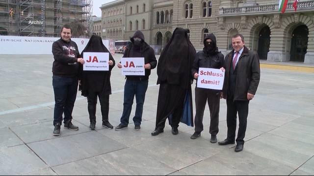 Burka-Initiative kommt vors Volk