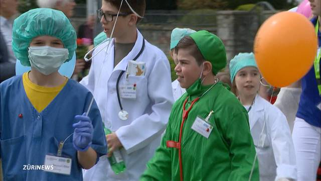 Jubiläum am Sechseläuten-Kinderumzug: 150 Jahre Kinderspital