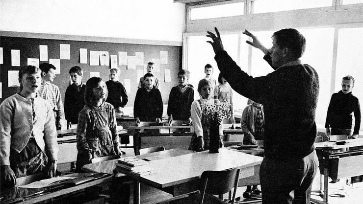 Mit dem Schulhaus Schlüechti wurde der Komfort für Lehrer und Schüler grösser. zvg