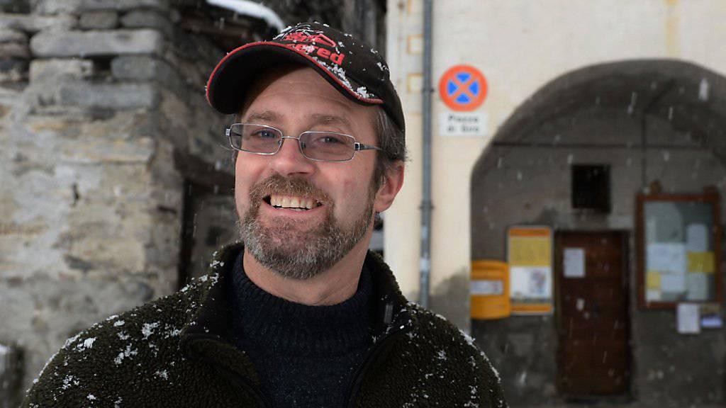 Gemeindepräsident Claudio Scettrini (Bild) sowie die zwei Gemeinderätinnen haben den Bettel hingeworfen: Die Tessiner Kleingemeinde Corippo muss deshalb von einem Kantonsdelegierten verwaltet werden.