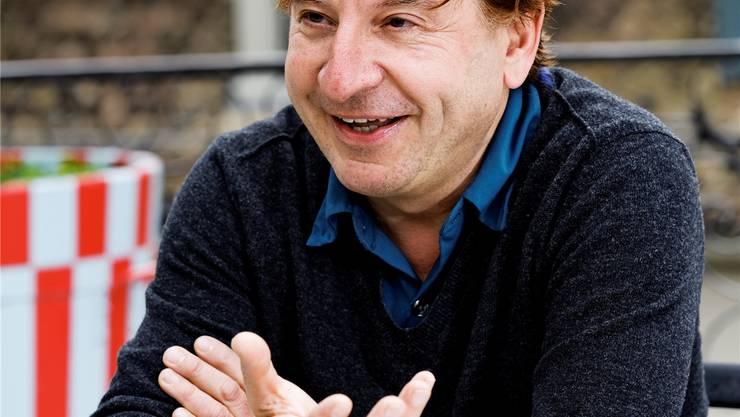Schauspieler Beat Schlatter. A. Albrecht