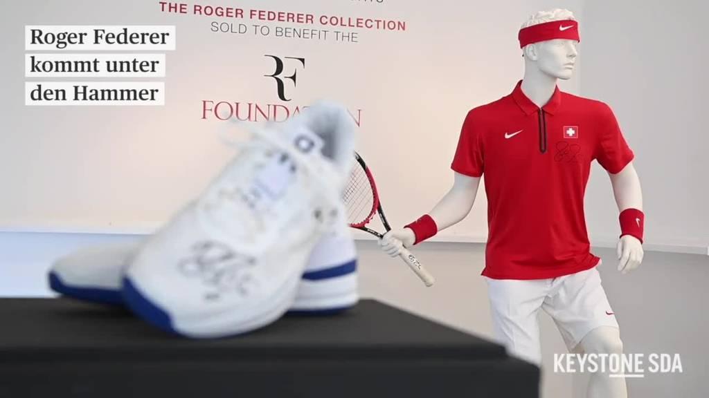 Roger Federer kommt unter den Hammer