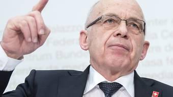 Finanzminister Ueli Maurer glaubt, dass die neue Unternehmenssteuerreform eine Mehrheit findet.
