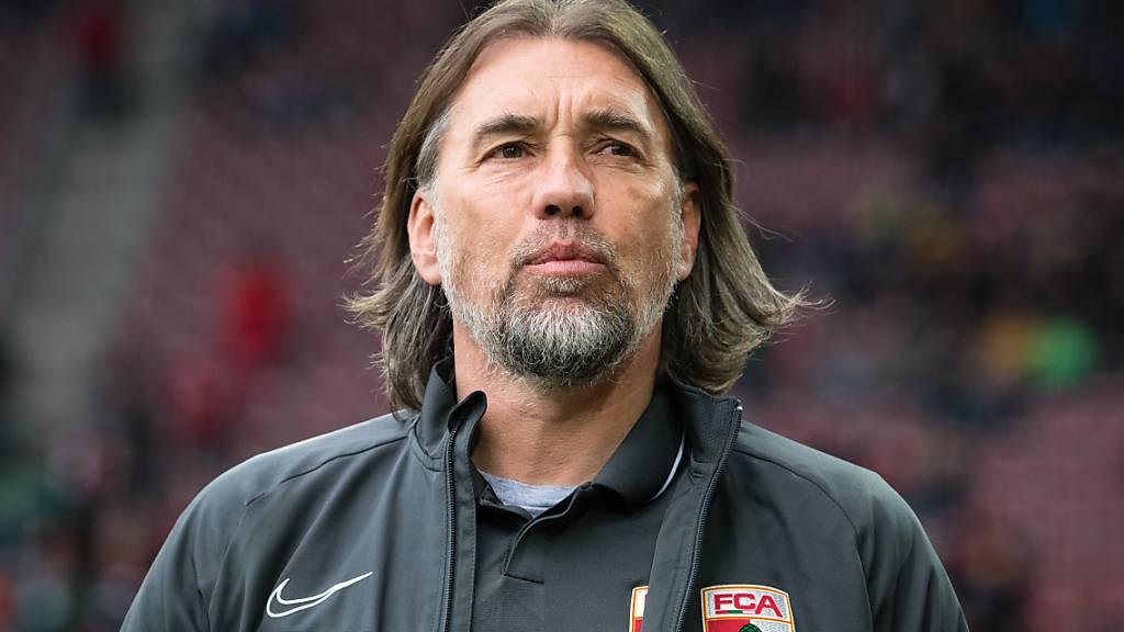 Martin Schmidt muss seinen Posten in Augsburg räumen.