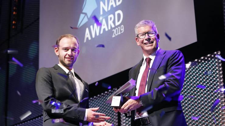 Nicholas Hänny ist Aargauer des Jahres 2019!