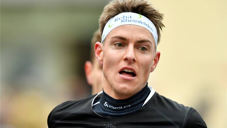 Damit hatte er selbst nicht gerechnet: Der Möhliner Orientierungsläufer Matthias Kyburz gewann am Sonntag den Silvesterlauf bei der Elite in Zürich. Keystone