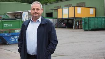 Gemeindeammann George Winet und der Gemeinderat haben nun maximal zwei Millionen Franken zur Verfügung um das Areal der ehemaligen Klein AG zu kaufen.