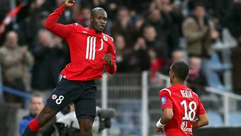 Lilles Moussa Sow brachte seine Mannschaft in Führung