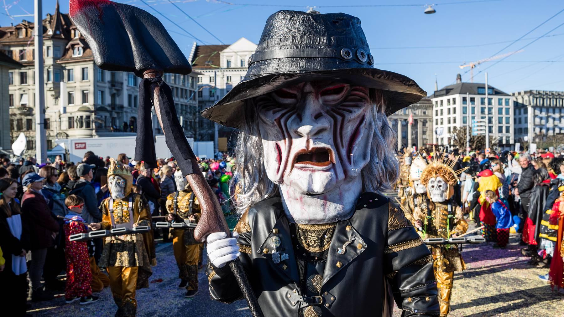 Ist für 2021 abgesagt: Der Wey-Umzug am «Güdismöntig» in der Stadt Luzern.