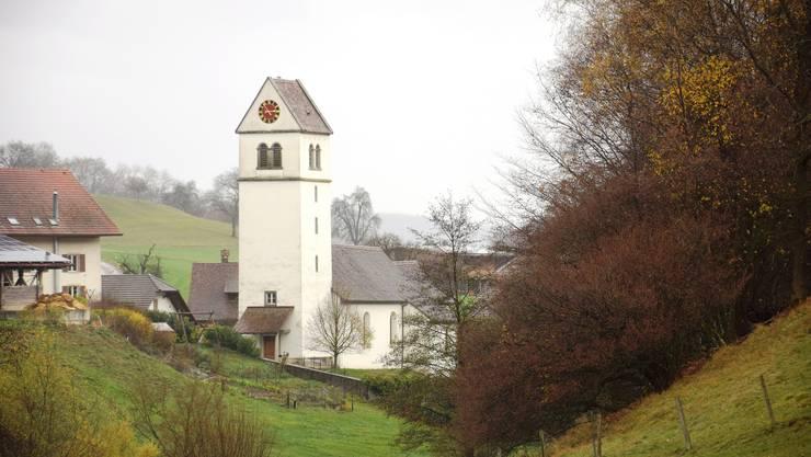 Idyllisch: Die Kirche in Bözberg ist beliebt bei Hochzeitspaaren. Einige Paare entdeckten sie beim Wandern.